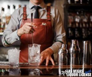 Bartender and Liquor